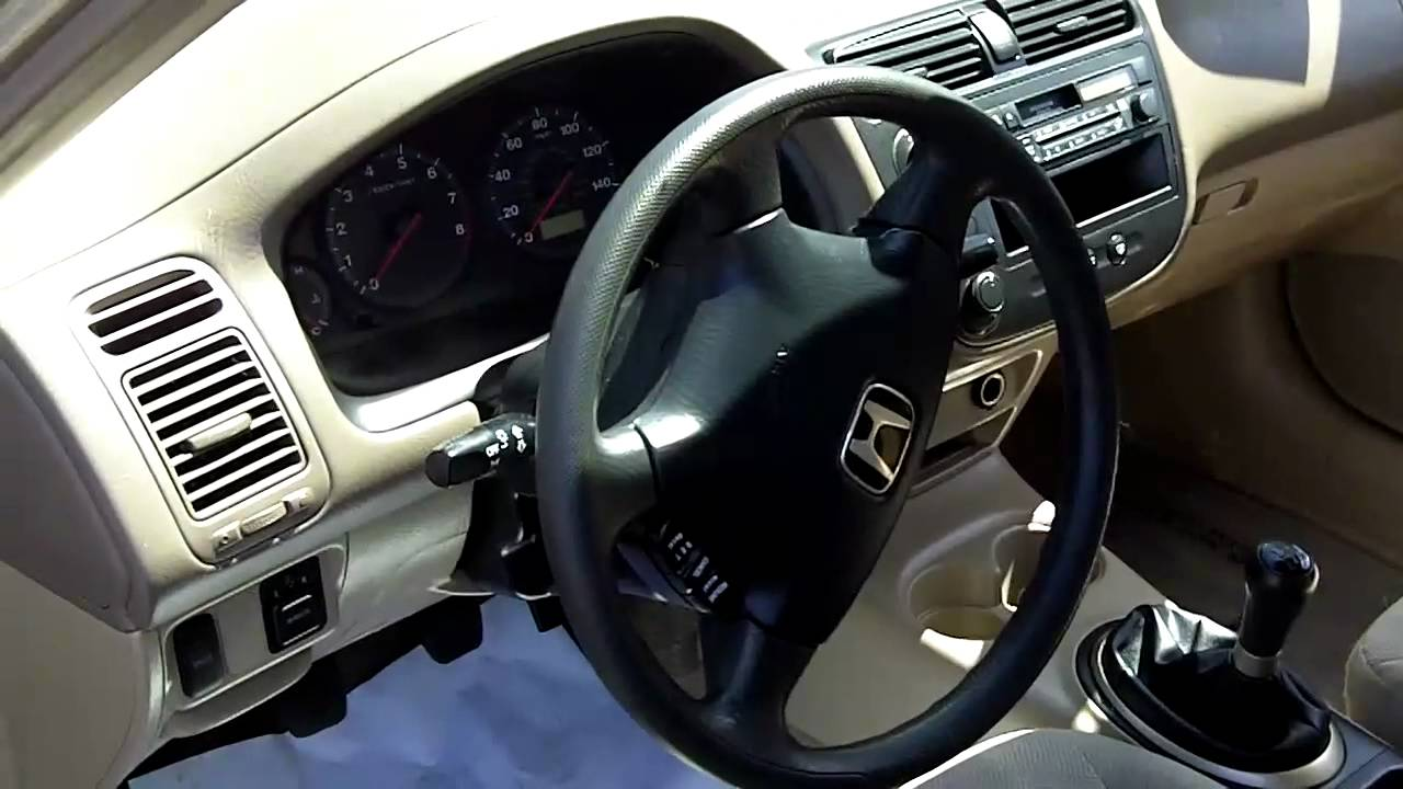 2001 Honda Civic Lx Sedan Youtube