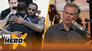 Colin Cowherd on the Durant vs James rivalry, the Chances OKC misses the playoffs | THE HERD