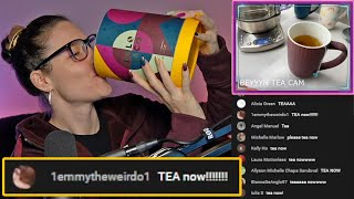 DON'T DRINK THE NAIL POLISH Holo Taco Tea launch🍵 - Simply Stream Highlights