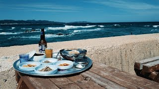 Where you can eat right next to the waves _ On #EastSea of Korea