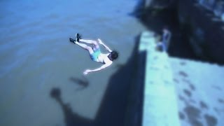 Jumping in the RIVER THAMES (LOST ODDS)