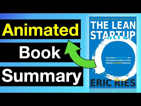 The Lean Startup By Eric Ries | Animated Book Summary