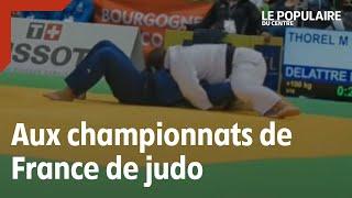 Au coeur des championnats de France de judo