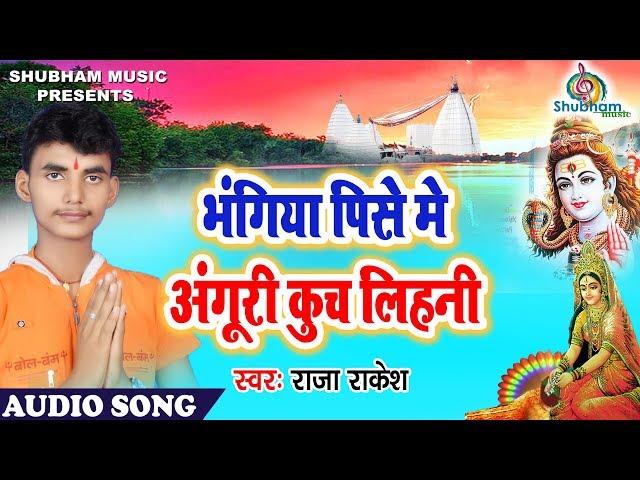 Bhangiya Pise Me Anguri Kuch Lihani   Superhit Sawan Geet 2018   Raja Rakesh