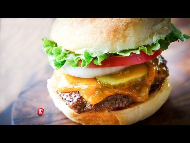 汉堡包 Cheeseburger 汉堡肉饼多汁的秘密