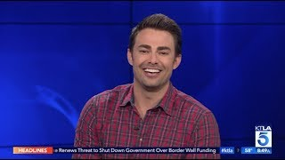 "Jonathan Bennett on his Cameo in Ariana Grande's ""Thank U, Next"" Music Video & New Hallmark Movie"