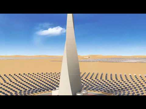 World's largest single-site Concentrated Solar Power project in Dubai