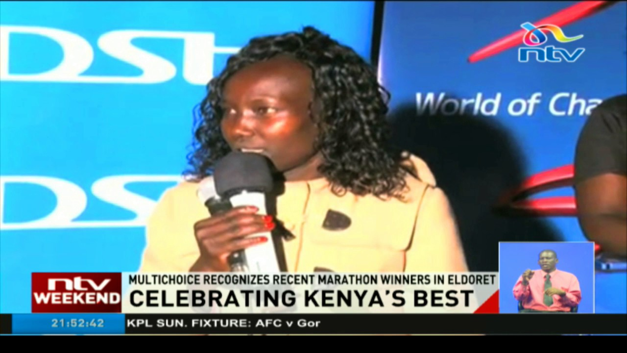 Multichoice recognises recent marathon winners in Eldoret