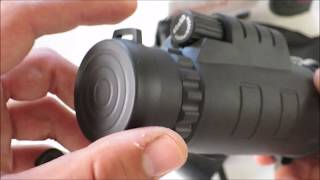 Unboxing and testing 40x60 Zoom Monocular Telescope for Smartphones
