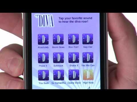 myDiva iPhone App - Short Spot