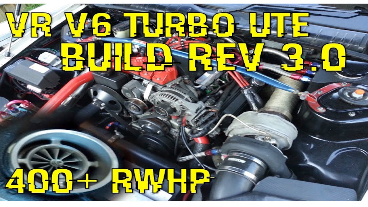 VR V6 TURBO COMMODORE [UPDATE 3] PORTED HEADS & MO