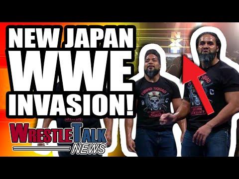 SHOCK New Japan HEEL TURN! New Japan WWE INVASION!   Wrestletalk Sept. 2018