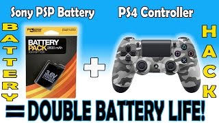 PS4 Controller Hack - How to Double PS4 Controller Battery Life