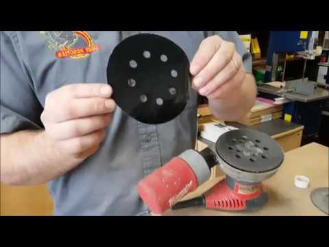 EthAnswers How To Replace Velcro On a Palm Sander Cheap and Easy!