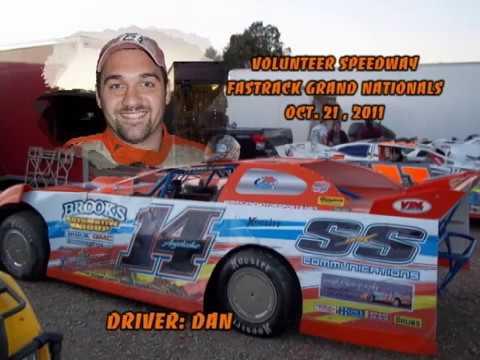 """A LOOK BACK:  Volunteer Speedway In Car Camera """"Dan Angelicchio #14"""" Oct 21, 2011"""