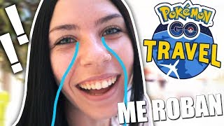 ME ROBAN la CAMARA y PRIMERAS CAPTURAS de Pokemon Go Travel!!! | SoninGame