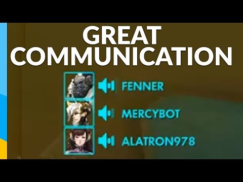 This is what good communication sounds like! | Overwatch: Competitive