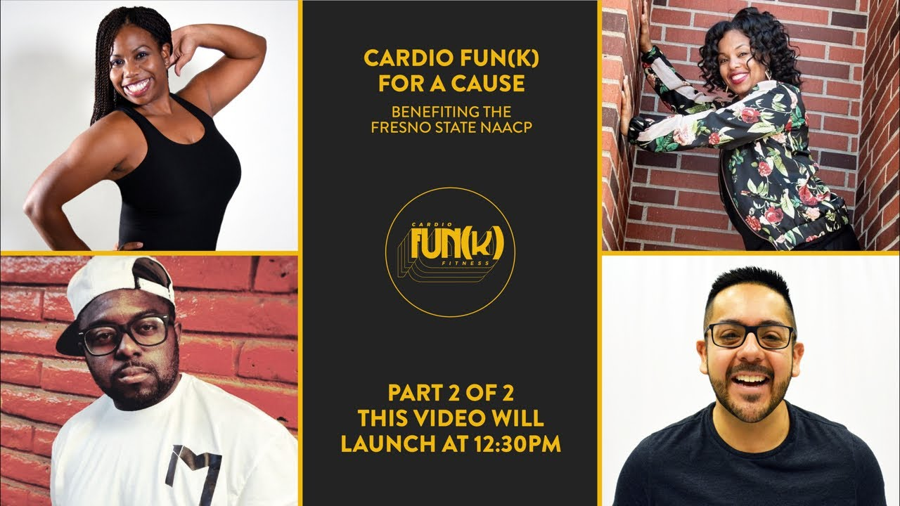 Cardio Fun(k) For A Cause    Sunday, June 28    Part 2 - 12:30PM