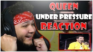🎤 Hip-Hop Fan Reacts To Queen - Under Pressure Live at Wembley 🎸