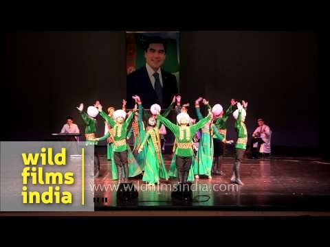Dance and music by Serpay Folklore Group from Turkmenistan