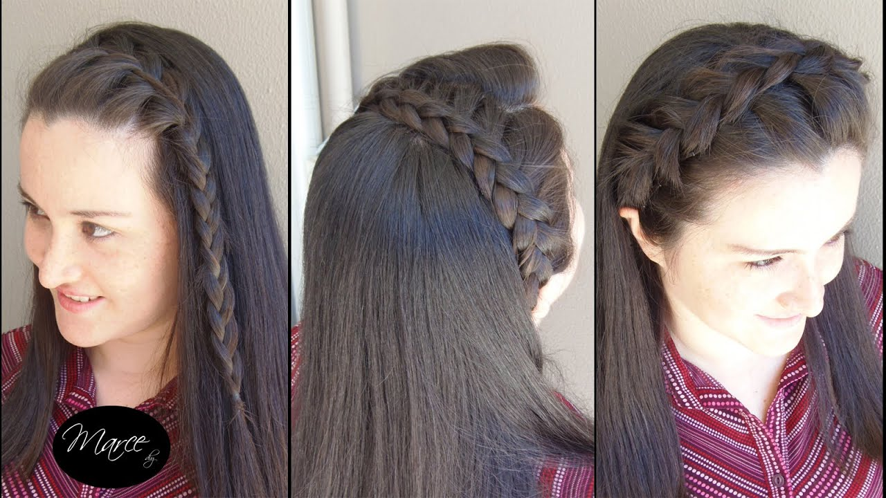Diademas con trenzas (3 opciones!) , Three headband braids!