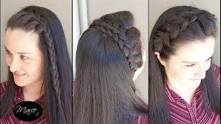 diademas con trenzas 3 opciones three headband braids   marce diy