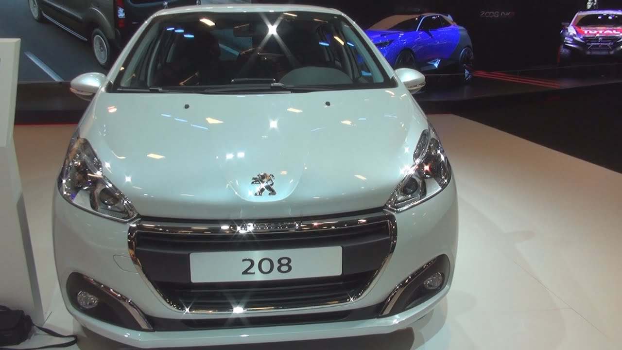 peugeot new 208 active 1.6 e-hdi 92 hp etg6 (2015) exterior and