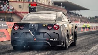 Nissan GT R R35 Altechno — 7 7 sec  @ 296 kph