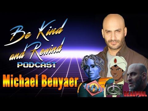 Celebrity Interview w/ Michael Benyaer from ReBoot and Deadpool!