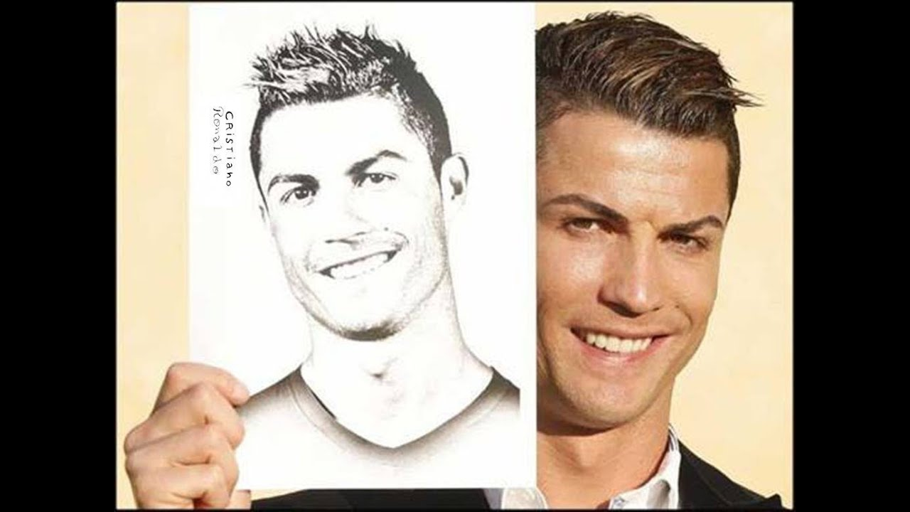 Ronaldo Drawing Easy Step By Step Unique Pencil Drawings Eyes Step