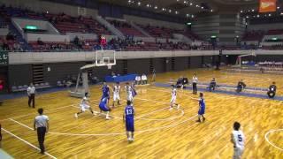飛龍vs中部大第一(2Q)高校バスケ 2015 新人戦東海大会準決勝