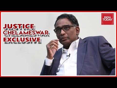 Justice J Chelameswar Exclusive To India Today After His Retirement   Full Interview
