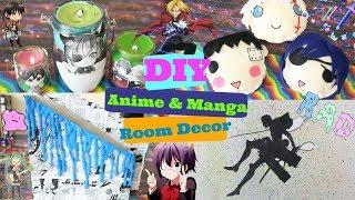 DIY Anime & Manga Room Decor|How To Make Anime & Manga Room Decor