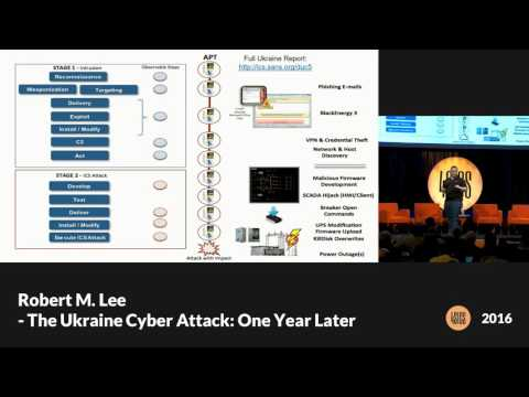 16 - Robert M Lee - The Ukraine Cyber Attack: One Year Later
