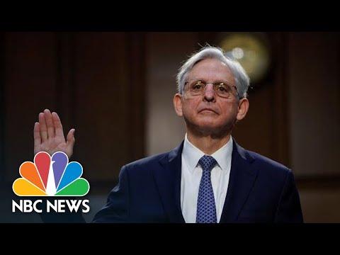 Merrick Garland Testifies At Attorney General Confirmation Hearing   NBC News