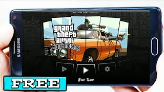 Gambar cover How To Download GTA San Andreas On Android For Free 2019