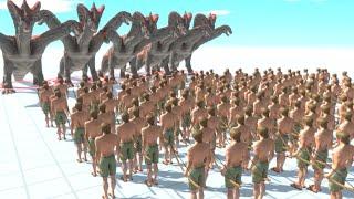 面白すぎる戦いを実現できる神ゲー『 Animal Revolt Battle Simulator 』