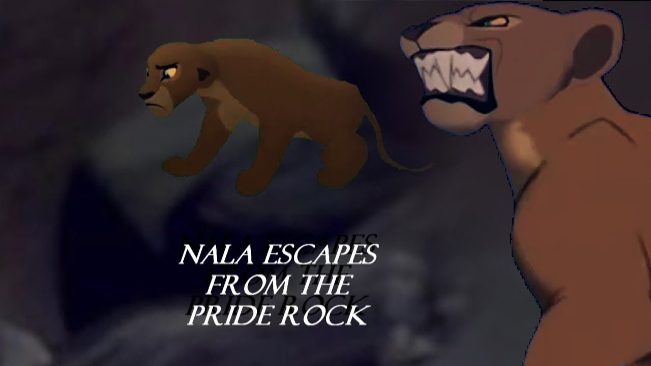 Nala Escapes from Pride Rock (Lion King 1994/2019)