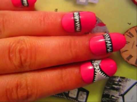 Snow Cone 3d Nail Art Using Salt Nail Arts Video Fanpop