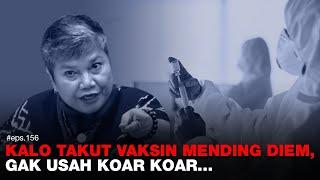Denny Siregar: KALO TAKUT VAKSIN MENDING DIEM, GAK USAH KOAR KOAR..