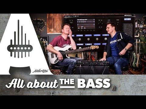 Using a Bass Guitar through a Line 6 Helix!