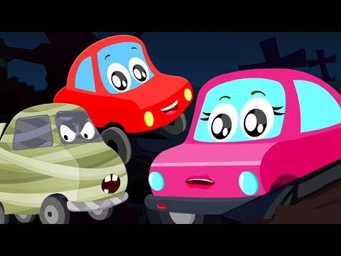 готовиться к испугу | Хэллоуин песни | песни для детей | Prepare For Fright | Little Red Car Russia