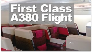 Malaysia Airlines A380 First Class Flight | A380 First Class Reviewed