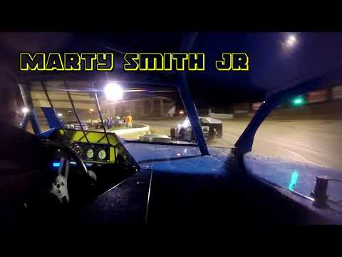 In Car Cam of Marty Smith Jr At Belle-Clair Speedway 7-20-18