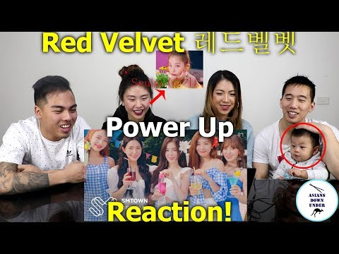 Red Velvet 레드벨벳 'Power Up' MV | Reaction - Australian Asians