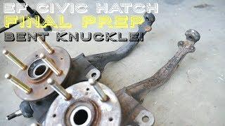 Civic Bent Knuckle Fix & Alignment - B20B