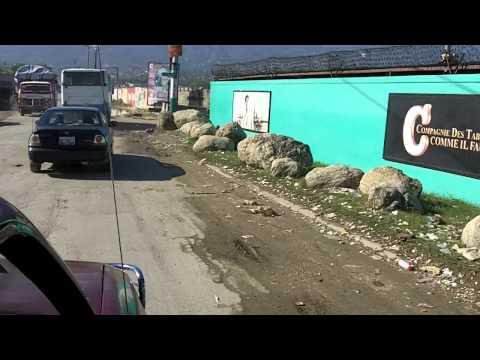 Haiti Driveby - Nearing the Airport
