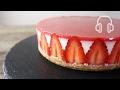 苺のレアチーズケーキのレシピ の動画、YouTube動画。