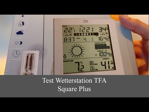 """TFA Funk-Wetterstation /""""Neo Plus/"""""""