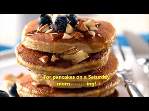 Funny Food Songs Kids Food Music PANCAKES ON A SATURDAY MORNING